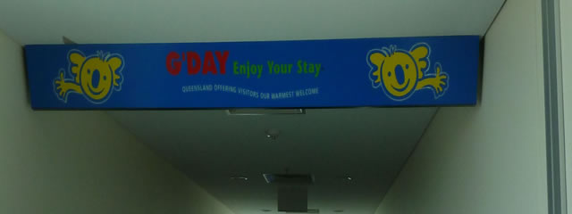 Gday sign