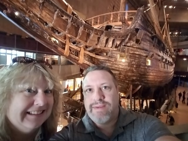 Here we are at the Vasa Museum