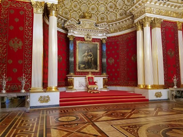 A royal throne
