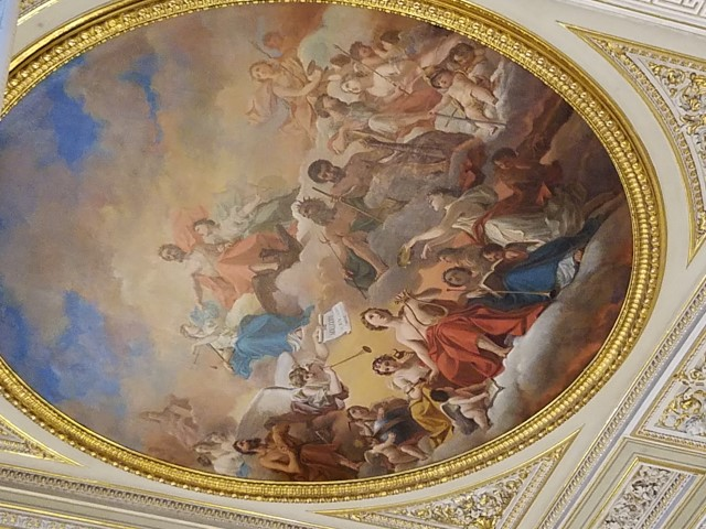 Another decorated ceiling
