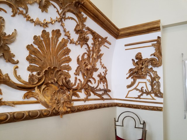 More of the detailed wall decorations