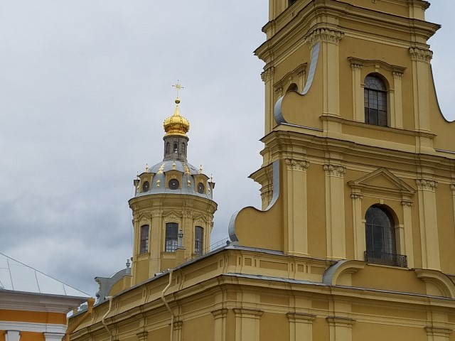 More of the iconic 'cupola' designs on the rooftops