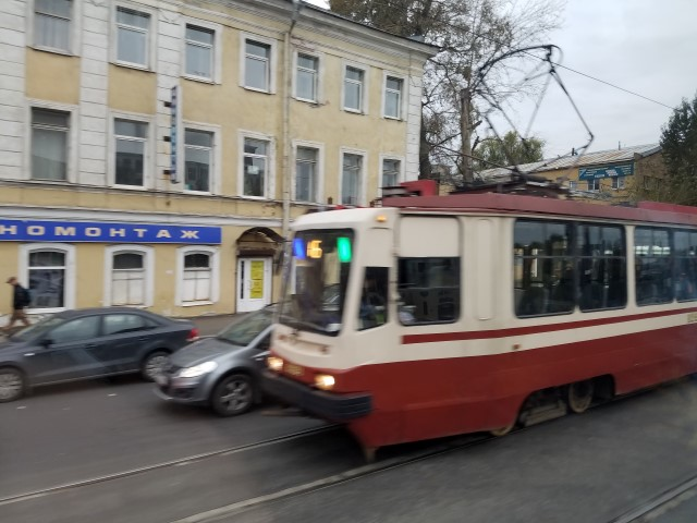 A trolly/tram thing we saw