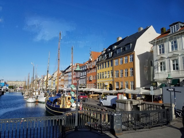 "Iconic canals of Copenhagen - ""The Venice of the North."""