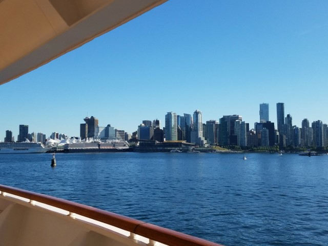 Setting sail from Vancouver